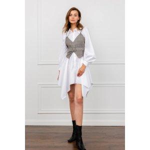 J.INGCorset Vest Shirt Dress