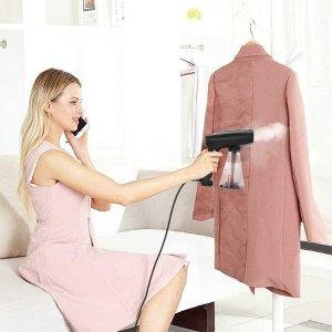 $29.74(原价$39.99)Coralov 手持蒸汽折叠挂烫机 3档调温 丝绸、棉毛衣物除皱