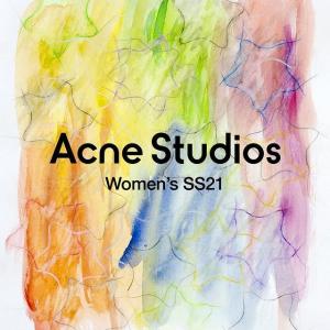 3折起+折上8折 €56就新款T恤Acne Studios 冬季大促上新 北欧简约风美衣 囧脸穿搭速度收
