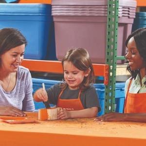 制作 经典木质小汽车预告:6月The Home Depot 免费的儿童手工作坊活动