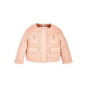 女童压纹棉服外套 有大童款