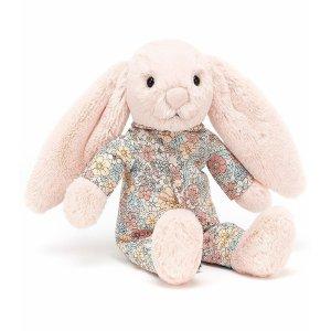 8折 新增小兔公仔补货:Jellycat 毛绒玩具、宝宝布书特卖 手快有