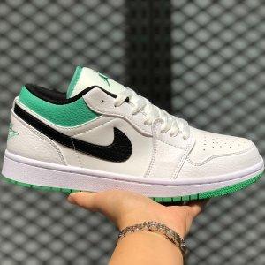 NikeAir Jordan 1 Low 白绿配色