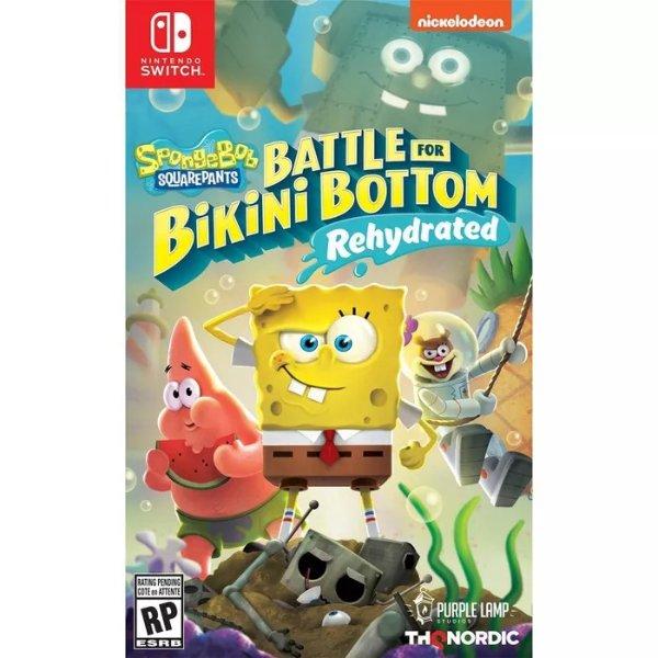 海绵宝宝:争霸比基尼海滩 - Nintendo Switch