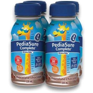 """$7.6(Shoppers$11.49)收4瓶装 三种口味史低价:雅培 Pediasure 神奇增高奶""""小安素"""" 还能改善儿童偏食等问题"""
