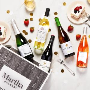 全场6折+评论抽奖独家:Martha Stewart Wine 母亲节活动 玫瑰葡萄酒$9.59起