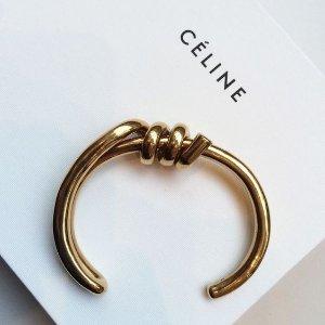 $319.63(美国定价 $445)Celine 精选Knot 手镯、耳环热卖 色全码全