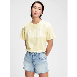 GapLogo Easy Heavyweight T-Shirt |® UK