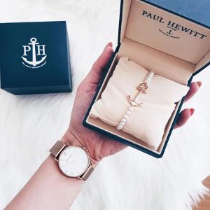 无门槛8折独家:Paul Hewitt 小众地中海风手表、水手饰品清新热卖