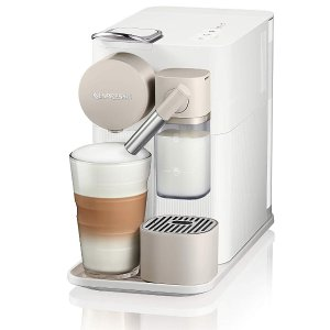 Nespresso by De'Longhi EN500W Lattissima One Original Espresso Machine with Milk Frotherby De'Longhi, Silky White