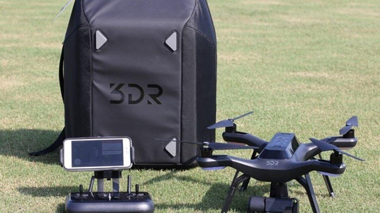 【粉丝众测报告】软妹子,小盆宇分分钟上手!3DR Solo 无人机初体验