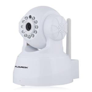 $29.99(原价$45.99)史低价:FLOUREON 720P 无线Wi-Fi安全监控摄像头