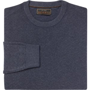 Reserve Collection Cotton & Silk Crew Neck Sweater CLEARANCE