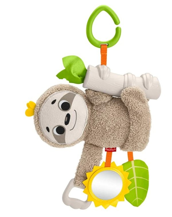 婴儿树懒悬挂安抚玩具