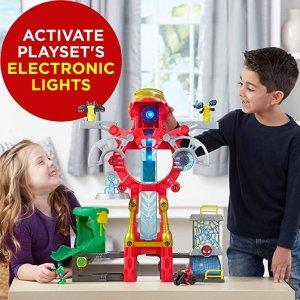 $29.88 Playskool Heroes Marvel Super Hero Adventures Iron Man Headquarters Playset @ Amazon