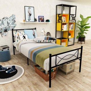 低至7折,多功能书桌$28Walmart 精选家具促销,Twin床架$49,超美4层花架$13