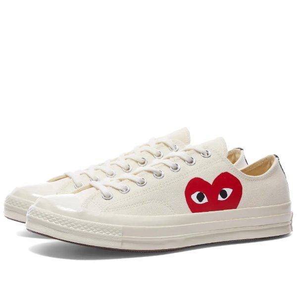 x Converse 桃心运动鞋