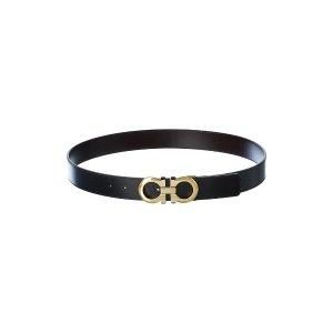 Salvatore FerragamoGancini Reversible & Adjustable Leather Belt