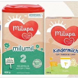 欧洲销量最好的奶粉之一德货之光:Milupa奶粉自动8折