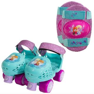 Kids' Roller Skates with Knee Pads @ Walmart