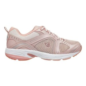 Easy SpiritZamper Leather Walking Shoes - Pink Multi