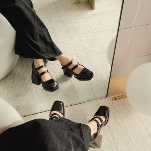 低至4折 BBR玛丽珍鞋€290收Monnier Frères 鞋靴大促 BBR、By Far、巴黎世家、MM6断码速抢