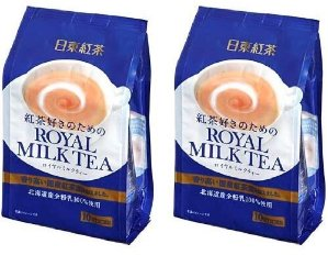 $9.97 TWIN Pack Royal Milk Tea Hot Cold Nitto Kocha 10 Pouch Pack (total 20 pouch)