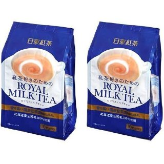 $9.97TWIN Pack Royal Milk Tea Hot Cold Nitto Kocha 10 Pouch Pack (total 20 pouch)
