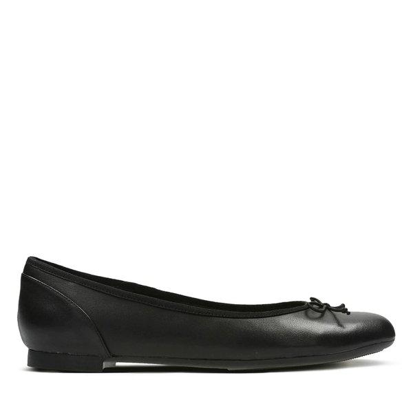 Couture蝴蝶结芭蕾单鞋