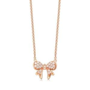 18K Rose Gold Diamond Necklace | Chow Sang Sang Jewellery eShop