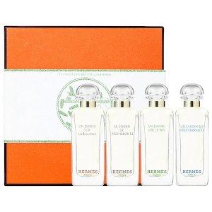 Hermes花园香水4件套