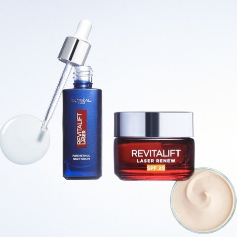 6折 平价视黄醇$29L'Oréal 欧莱雅护肤 良心配方 入零点霜、安瓶面膜