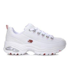 Skechers白色老爹鞋