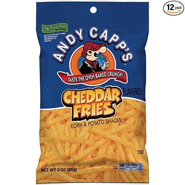 Andy Capp's 切达芝士味薯条 3oz 12包