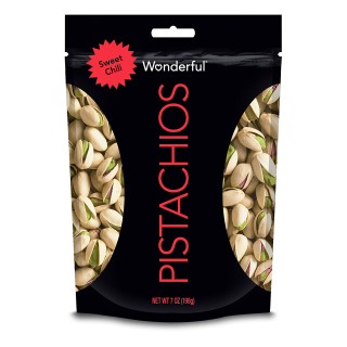 $3.94Wonderful Pistachios Sweet Chili Pouch, 7 Ounce
