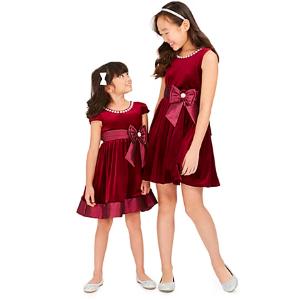 低至3.6折+包邮 $30-$40搞定演出Party裙Rare Editions 女婴、女童节日款连身裙优惠