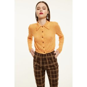 The East Order Collared Knit Cardigan