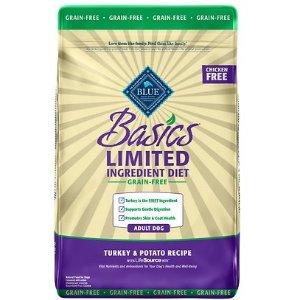 Blue Buffalo Basics Limited Ingredient Grain-Free Adult Dry Dog Food