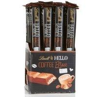 Lindor 咖啡软心牛奶巧克力条 24条装