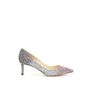 Jimmy ChooGRADIENT GLITTER ROMY 60 闪片低跟