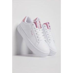 Filapanache 19女款粉尾小白鞋