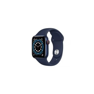 AppleWatch Series 6 (Blue Aluminium, 44mm, Deep Navy Sport Band, GPS Only) | Smart Watches |