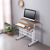 HOSEOKA 可调节高度角度紧凑型电脑桌 3色可选