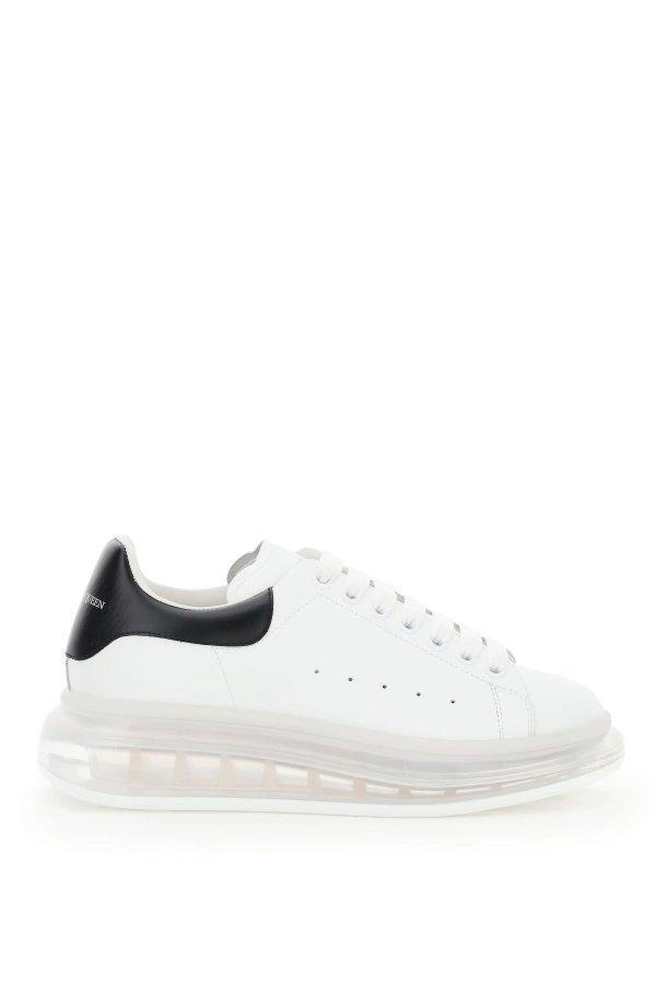 水晶底小白鞋