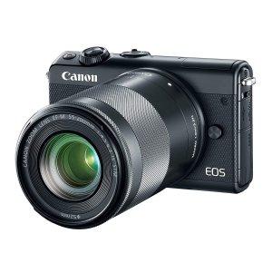 Canon EOS M100 Mirrorless Camera w/ 15-45mm Lens & 55-200mm Lens