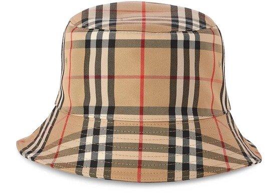 Check pattern 渔夫帽