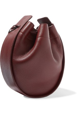 The Row | Textured-leather bucket bag | NET-A-PORTER.COM