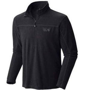 Mountain HardwearMountain Hardwear Microchill Lite Microfleece Long Sleeve Zip T - Men's | Campmor