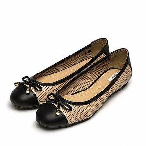$75 (原价$150)  国内特价¥1279意大利 GEOX 女式LOLA 蝴蝶结平底鞋 呼吸透气
