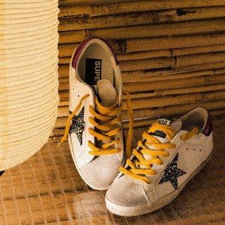低至8折 经典款$370Golden Goose 新款热卖 时尚无二 收易烊千玺超爱脏脏鞋